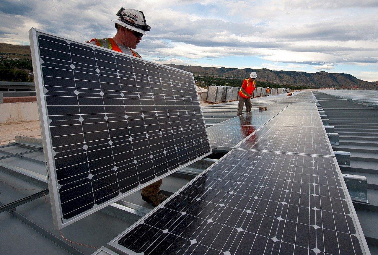 Export van zonnepanelen