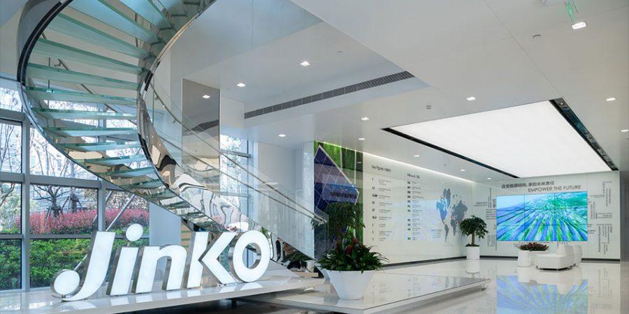 Export van Jinko Solar zonnepanelen